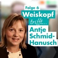 Coverbild zu Folge 6: Antje, wie sieht die Schule der Zukunft aus?